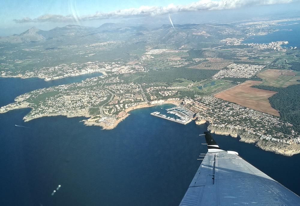 Mallorca fra luften