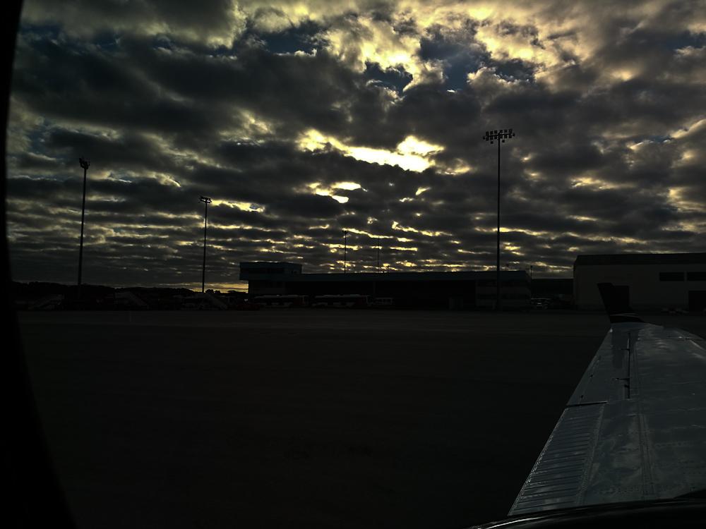 Take-off himmel