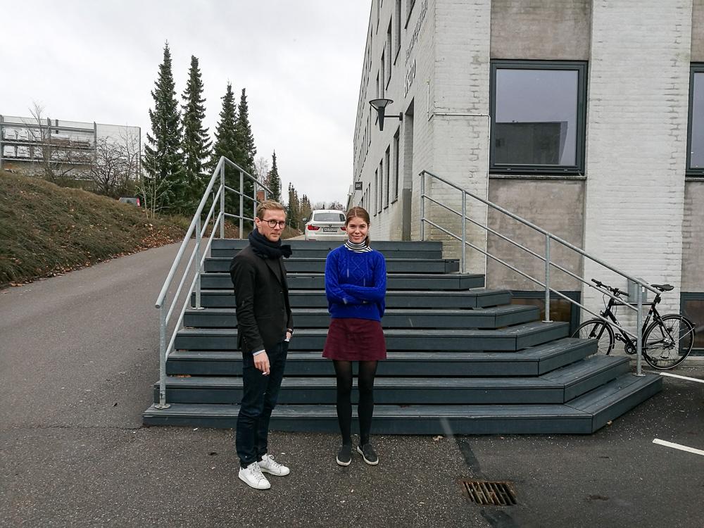 Mikkel & Vibber - på vej til DM i buffet
