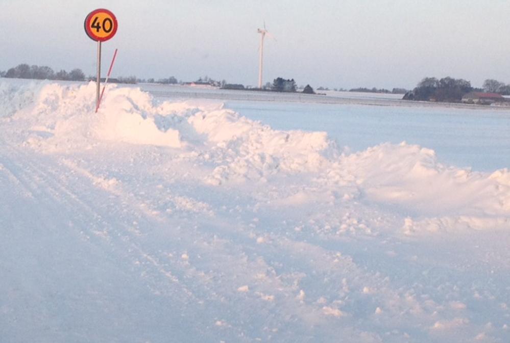Det gik hvidt for sig i Sverige