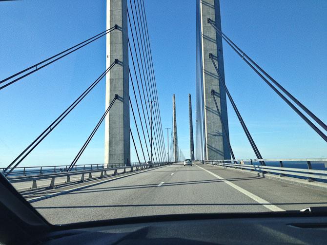 Vi kørte til Sverige