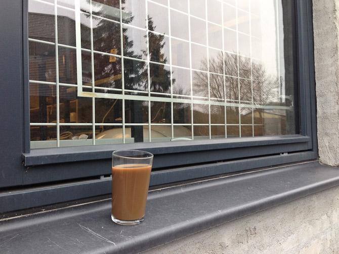 Kaffe på sned