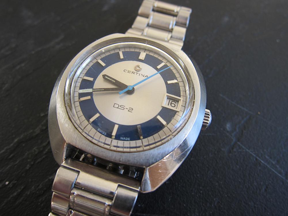 Certina DS-2 sag med over 30 år på bagen. Og håndleddet.