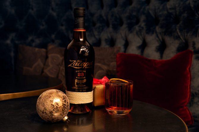 Zacapa Negroni cocktail