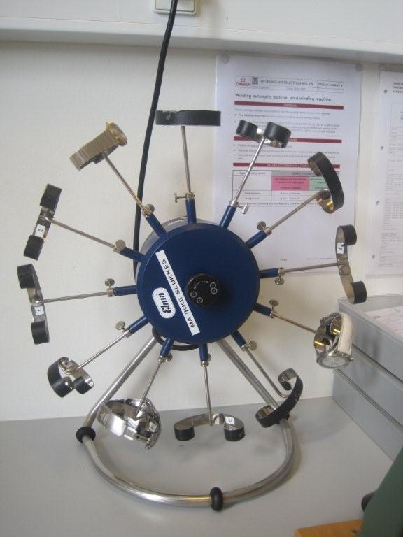 Schweizerhjulet tjekker gangreserven på en flok patienter...