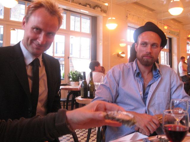 Gregersen og Rasmussen på The Standard Grill
