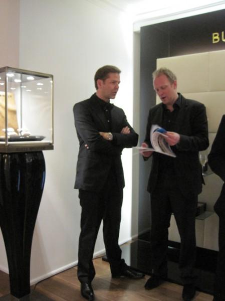 """Friis fortæller """"Ulle"""" om sit nye magasin. More to come..."""