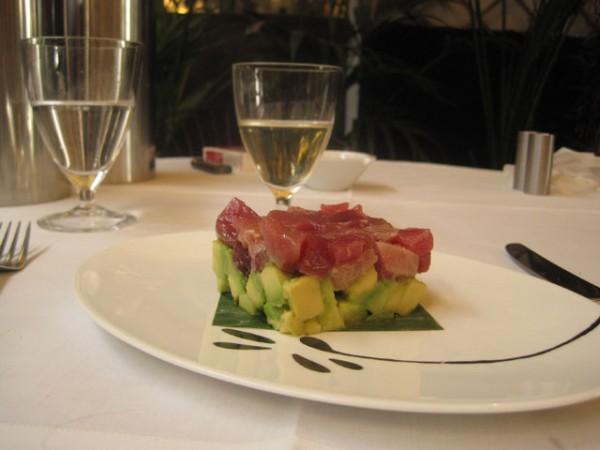 Frisk tun og ditto avokado