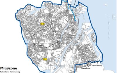 Baudos dyzeliniams furgonams ir sunkvežimiams Kopenhagoje, Aalborg, Odense ir Århus