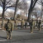 VIDEO: Soldiers didn't Salute and Many Turned their Backs on Biden's Motorcade Today.