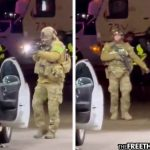 """This is Martial Law""—US Soldiers Force Women from Car at Gunpoint for Pumping Gas Past Curfew"