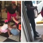 Viral Video Shows White Mother Brutally Beaten By A Obese Black Woman While Her Little Baby Tries To Save Her – No Media Outrage
