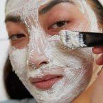 masque du visage au ginseng