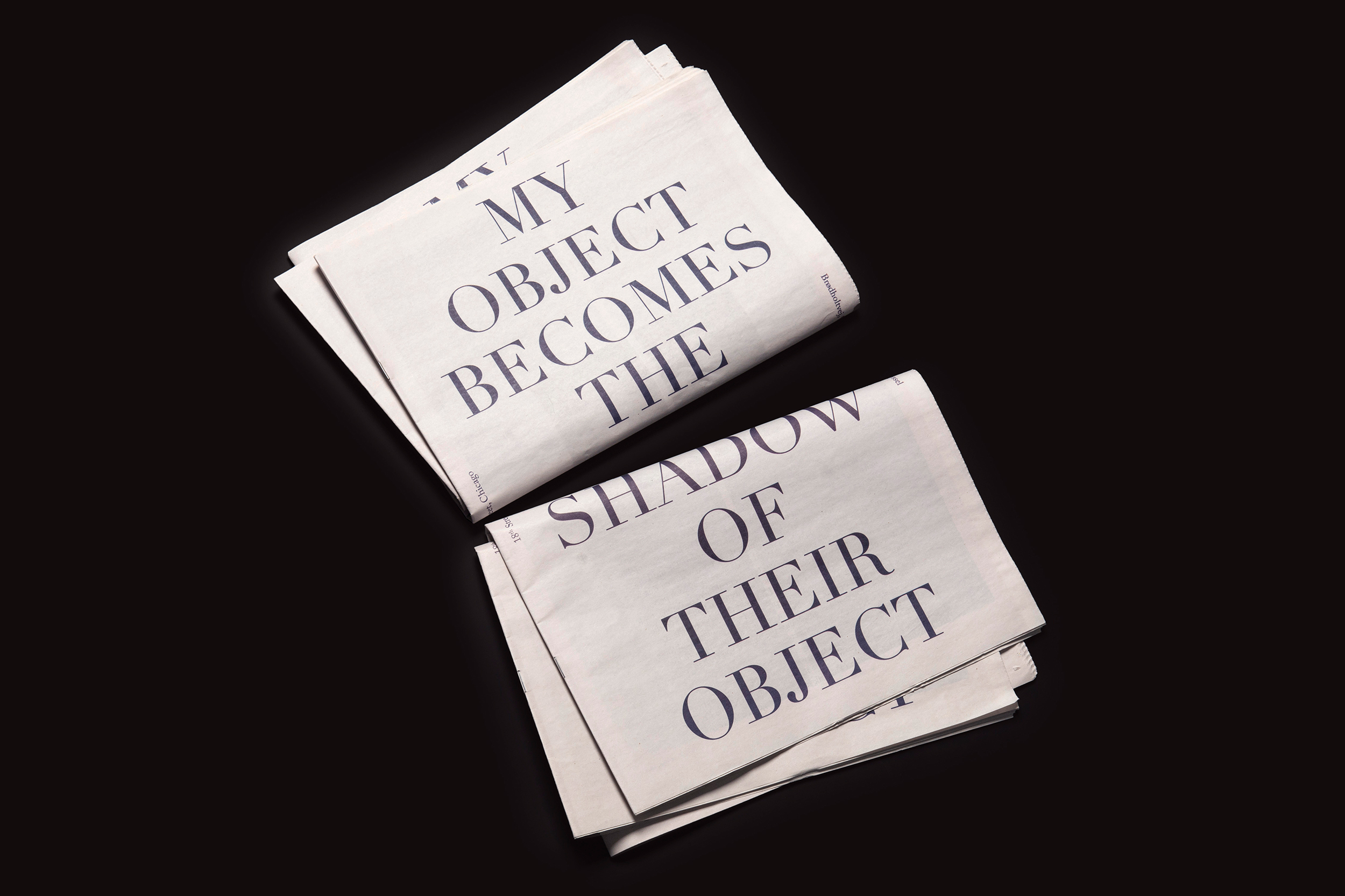 My Object Becomes The Shadow Of Their Object