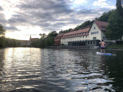 Stand up Paddeln - Neckar Tübingen