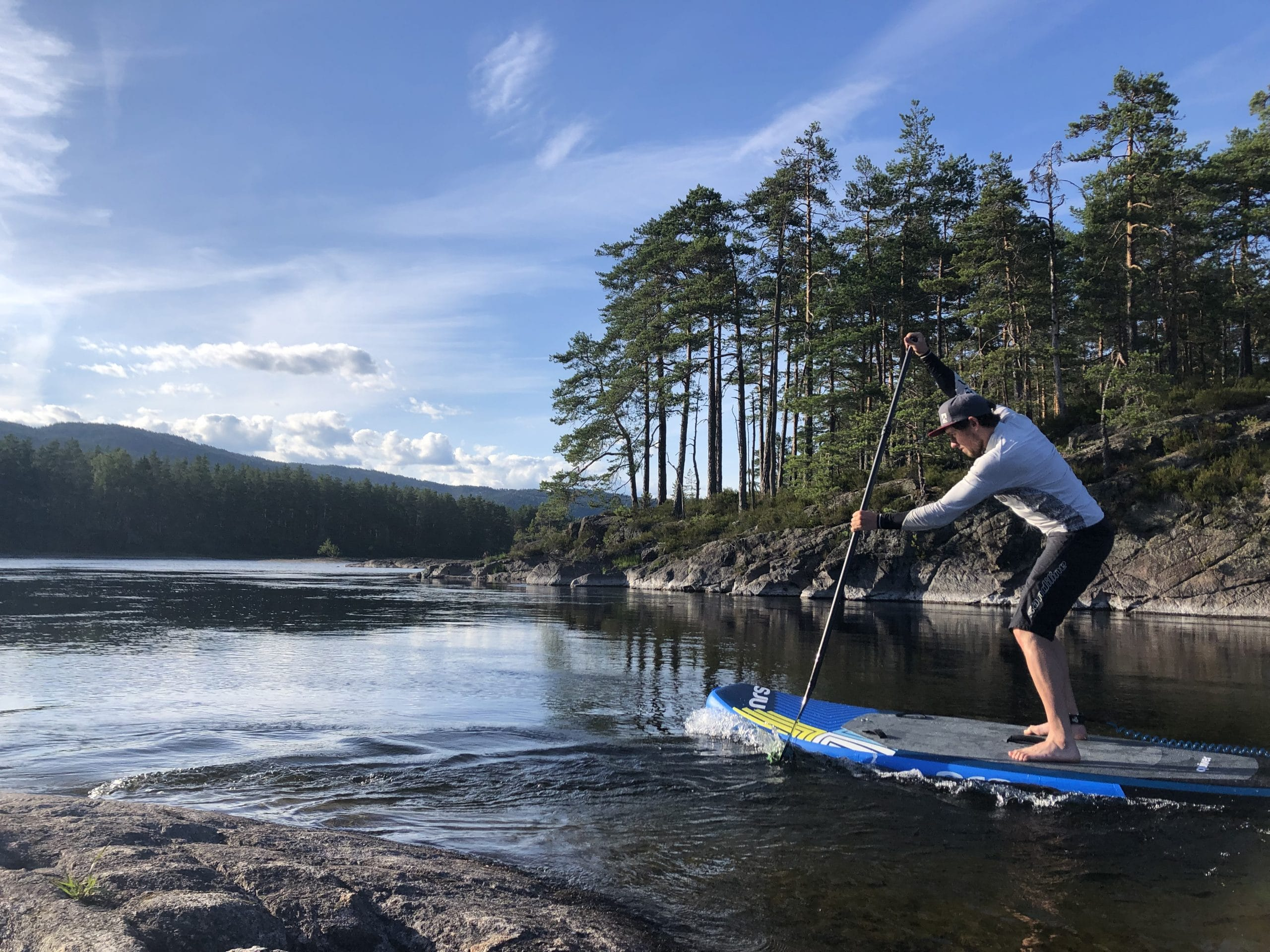 Stand up Paddling in Norwegen