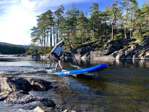 Stand up Paddeln - Norwegen