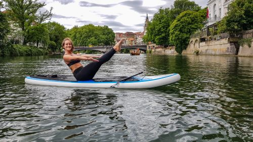 NeckarSUP,Stand up Paddling Stand up Paddeln