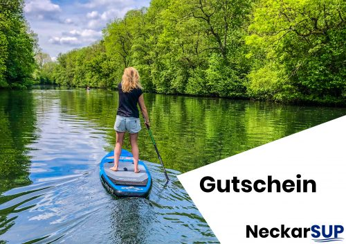 NeckarSUP, Stand up PaddlingStand up Paddeln
