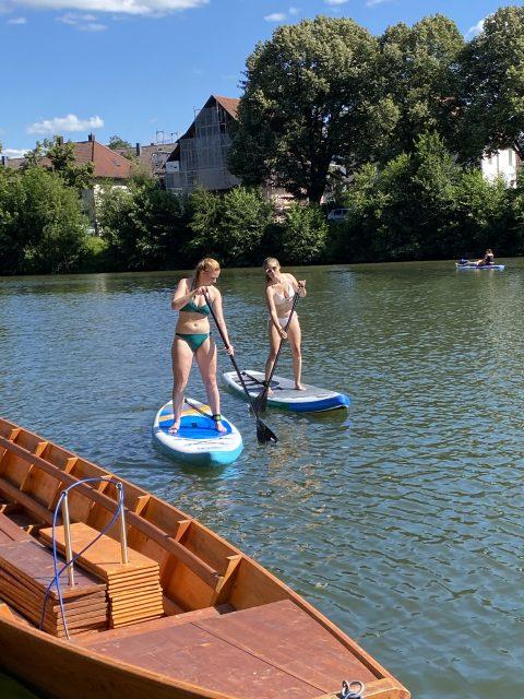 Stand up Paddeln - Tübingen Neckar