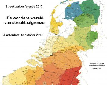 Indelingskaart Nederlandse dialecten