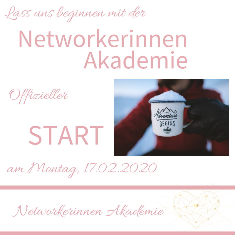 Start der Networkerinnen Akademie