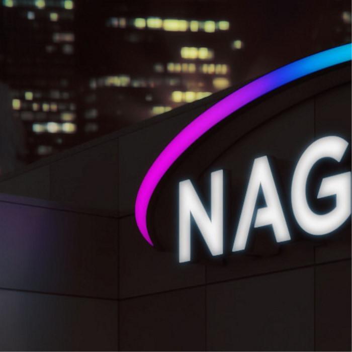 Neon-Nagel-Bauarten-beleuchtet