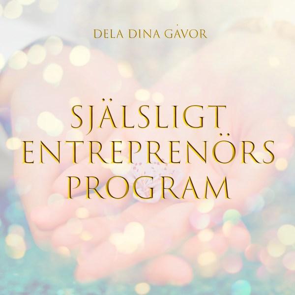 Själsligt entreprenörsprogram med Helena Omfors, YVCA