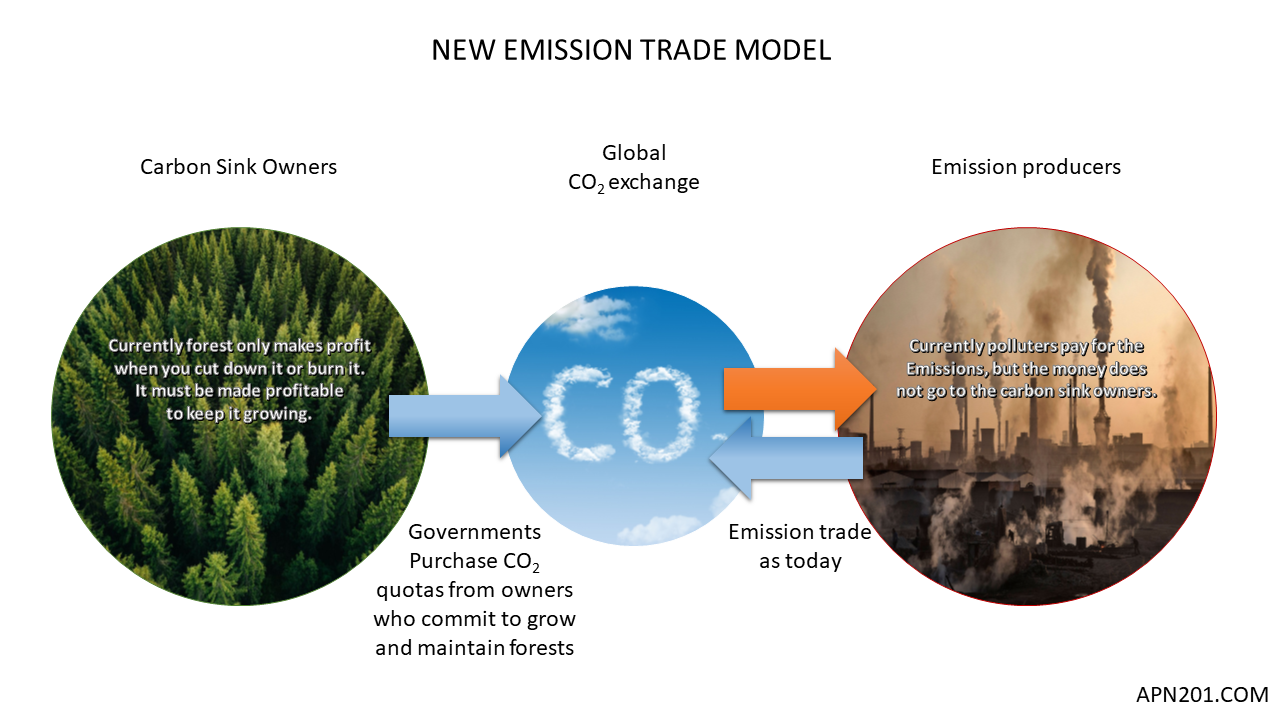 New EMission trade model