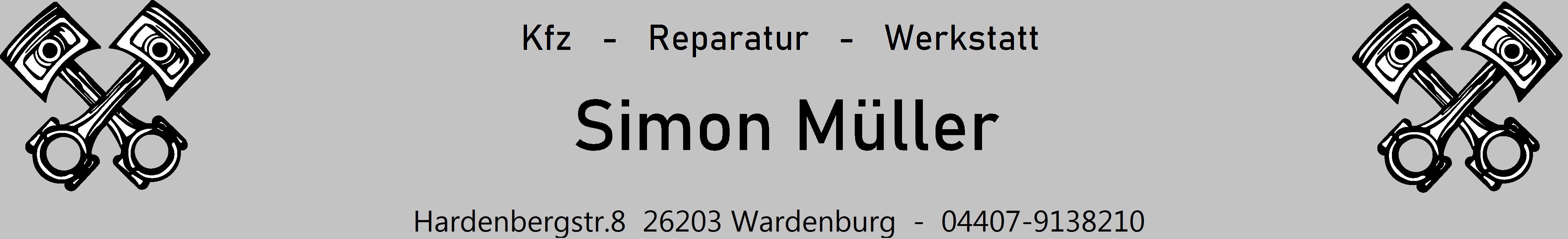Simon Mueller    KFZ-Werkstatt-Reparatur