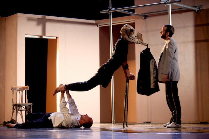 Danseforestilling fra Palestina