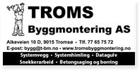 Annonse Troms Byggmontering