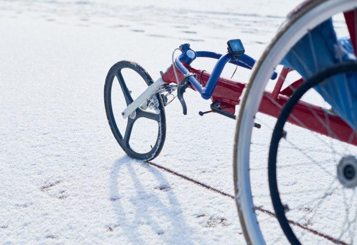 Illustrasjonsbilde av spesialtilpasset sykkel