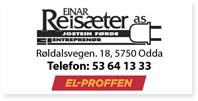 Annonse Einar Reisaeter El Proffen