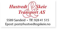 Annonse Hustvedt Skeie Transport AS