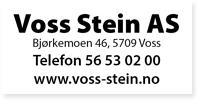 Annonse Voss Stein AS