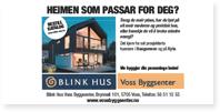 Annonse Blinkhus Voss Byggsenter