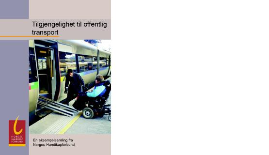 Tilgjengeligelighet Offentlig Transport