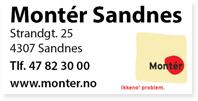 Annonse Monter Sandnes