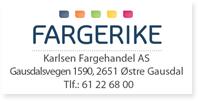 Annonser Fargerike Gausdal KARLSEN FARGEHANDEL
