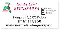 Annonser Nordre Land Regnskap