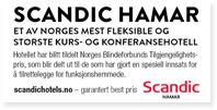 Annonser Scandic HAMAR