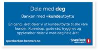 Annonser Sparebank1 Hedmark