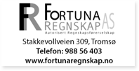 Annonse Fortuna Regnskap