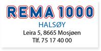 Annonse Rema 1000 Halsøy