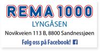 Annonse Rema 1000 Lyngåsen