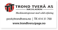Annonse Trond Tverå As