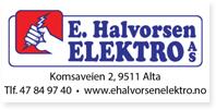 Annonse E Halvorsen Elektro As