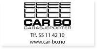 Annonse Car Bo Garasjeporter