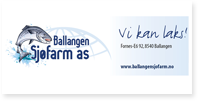 Annonse Ballangen Sjøfarm